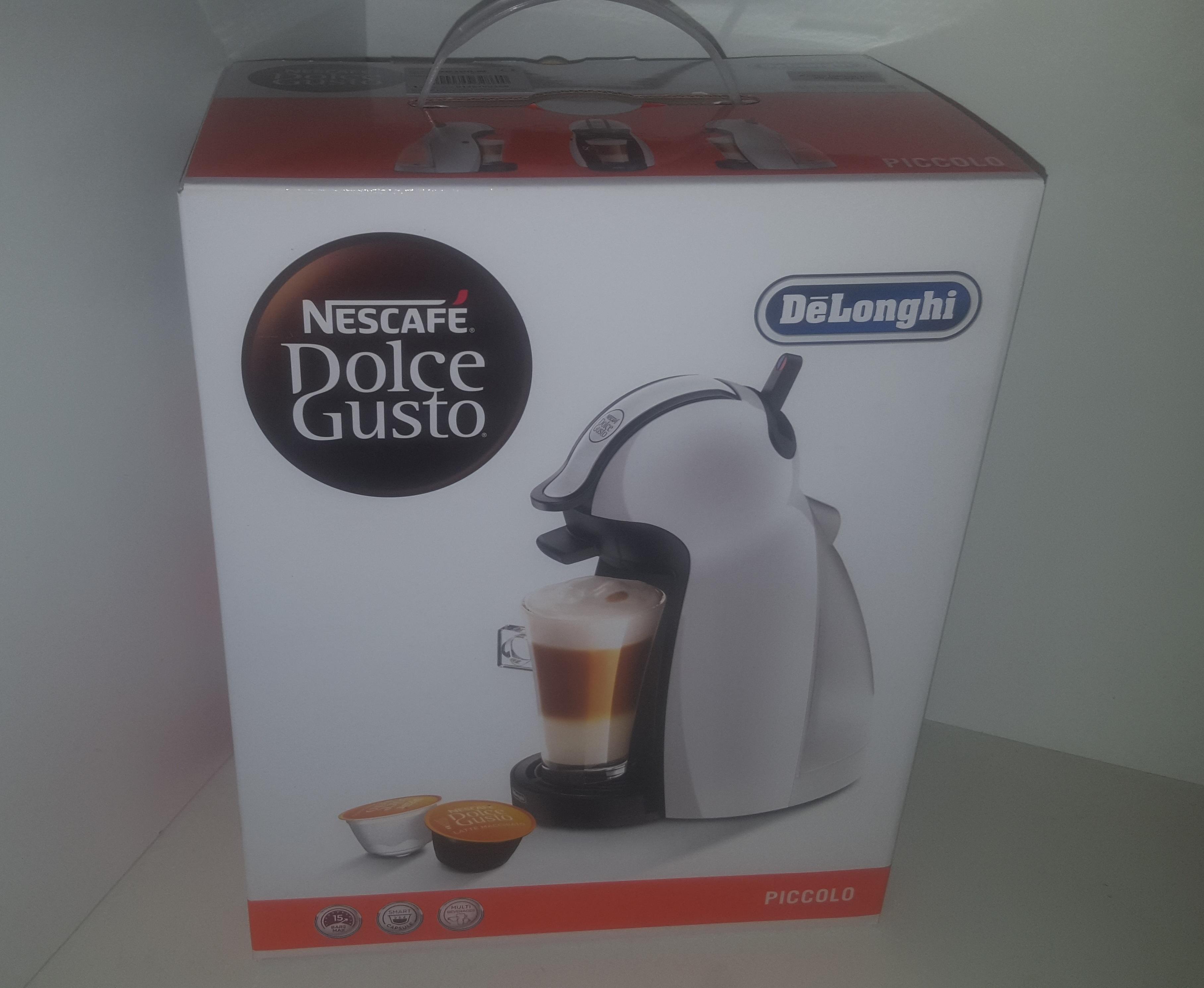 delonghi edg 100 w nescaf dolce gusto piccolo kaffeekapselmaschine wei ebay. Black Bedroom Furniture Sets. Home Design Ideas