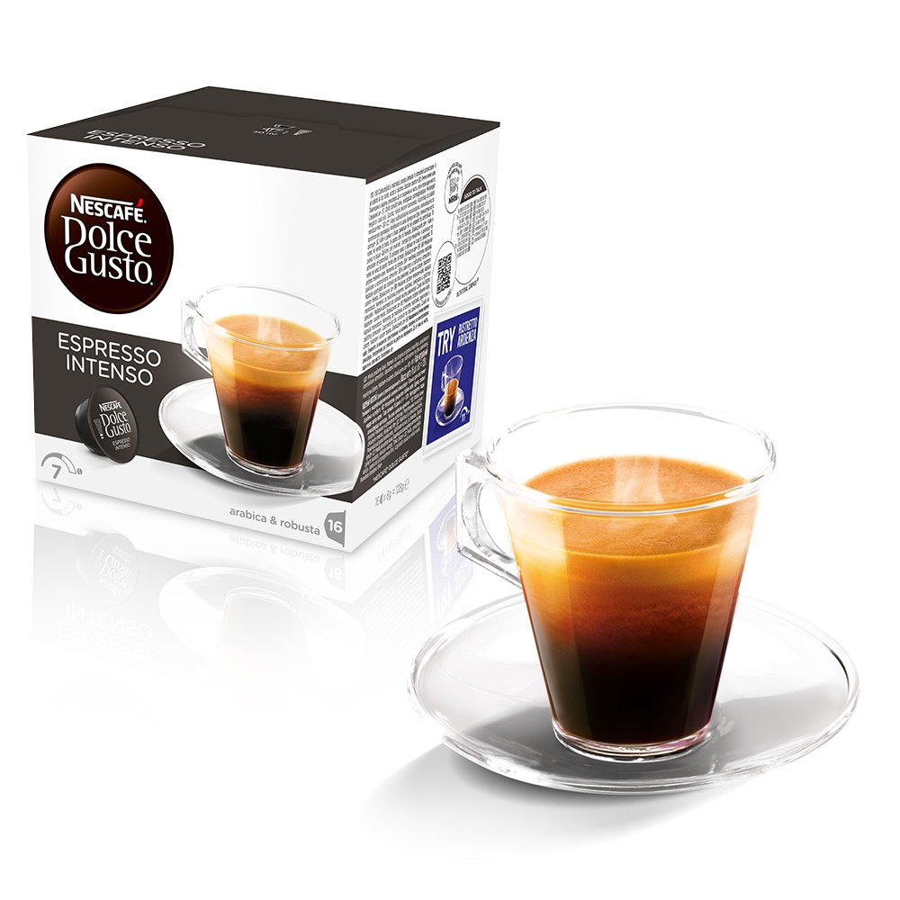 80 kapseln portionen nescaf dolce gusto espresso intenso kaffee gro packung ebay. Black Bedroom Furniture Sets. Home Design Ideas