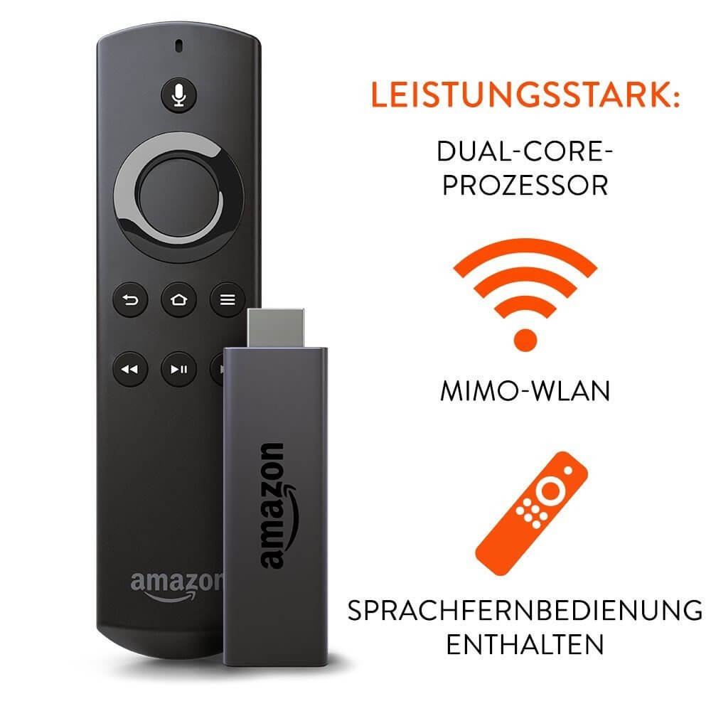 amazon fire tv stick kodi 16 1 jarvis tuerkish with voice remote control ebay. Black Bedroom Furniture Sets. Home Design Ideas